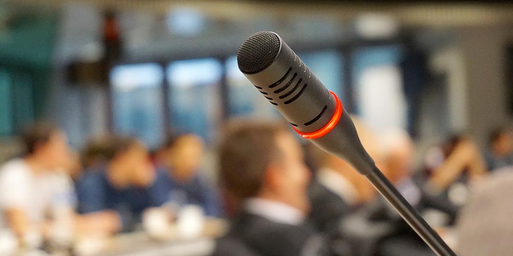 Fazer apresentações em público incomoda-o?
