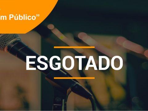 """WORKSHOP  """"Falar em Público"""" – 3 Outubro – Lisboa"""
